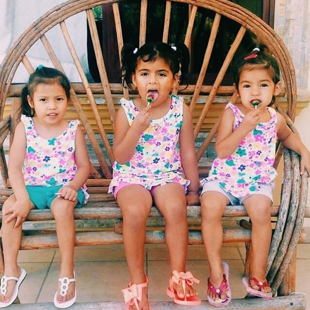 What's cuter than 3 girls in matching outfits eating lollipops? Nothing is the answer😉🍭